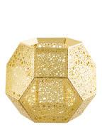Tom Dixon Teelichthalter ETCH , Farbe: GOLD (Bild 1)
