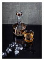 Tom Dixon Whisky-Karaffe TANK , Farbe: TRASPARENT/ BRONZE  (Bild 1)