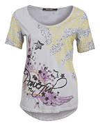 MARC AUREL T-Shirt, Farbe: GRAU/ GELB (Bild 1)