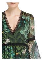 MARCCAIN Kleid, Farbe: SCHWARZ/ GRÜN/ HELLGRÜN (Bild 1)