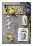 Bloomingville 6er-Set Weingläser, Farbe: TRANSPARENT/ GOLD  (Bild 1)