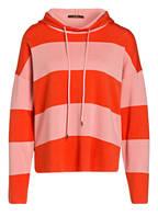 windsor. Strick-Hoodie, Farbe: ORANGE/ HELLROSA (Bild 1)