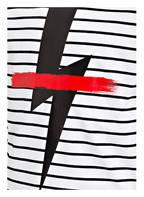NEIL BARRETT T-Shirt, Farbe: WEISS/ SCHWARZ (Bild 1)