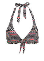 BRUNOTTI Neckholder-Bikini-Top SUNTIP , Farbe: SCHWARZ GEMUSTERT (Bild 1)