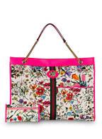 GUCCI Shopper RAJAH MAXI, Farbe: PINK/ ROT/ BLAU (Bild 1)