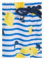 SUNUVA Badeshorts SICILIAN LEMON , Farbe: BLAU/ WEISS/ GELB (Bild 1)