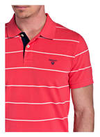 GANT Piqué-Poloshirt, Farbe: HELLROT/ WEISS GESTREIFT (Bild 1)