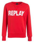 REPLAY Sweatshirt, Farbe: ROT (Bild 1)