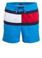 TOMMY HILFIGER Badeshorts, Farbe: HELLBLAU/ ROT (Bild 1)