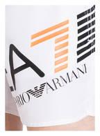 EA7 EMPORIO ARMANI Badeshorts, Farbe: WEISS (Bild 1)