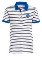 VINGINO Piqué-Poloshirt, Farbe: WEISS/ BLAU GESTREIFT (Bild 1)