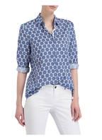 just white Bluse, Farbe: WEISS/ BLAU (Bild 1)