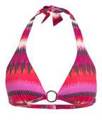 CYELL Neckholder-Bikini-Top CAP FERRAT, Farbe: ROT/ PINK/ SCHWARZ (Bild 1)