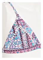 SEAFOLLY Triangel-Bikini MAHARAJA , Farbe: ROSA/ BLAU (Bild 1)