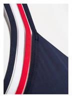 TOMMY HILFIGER Neckholder-Bikini-Top, Farbe: NAVY/ WEISS/ ROT (Bild 1)
