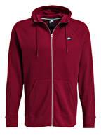Nike Sweatjacke, Farbe: ROT (Bild 1)