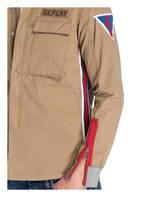 REPLAY Overshirt, Farbe: CAMEL (Bild 1)