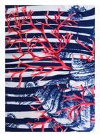 Charmline Badeanzug CORAL PLAY, Farbe: BLAU/ WEISS GESTREIFT (Bild 1)