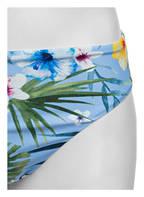 Hot Stuff Bikini-Hose HAWAII, Farbe: HELLBLAU/ GRÜN/ ORANGE (Bild 1)