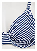 Hot Stuff Bügel-Bikini-Top STRIPES, Farbe: DUNKELBLAU/ WEISS GESTREIFT (Bild 1)