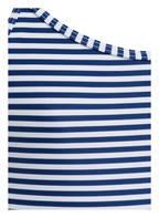 Hot Stuff Badeanzug STRIPES, Farbe: WEISS/ DUNKELBLAU (Bild 1)