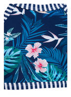 Hot Stuff Bustier-Bikini, Farbe: BLAU GEMUSTERT (Bild 1)