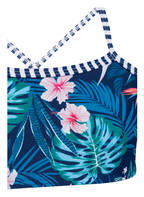 Hot Stuff Bustier-Bikini, Farbe: BLAU/ TÜRKIS (Bild 1)