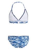 Hot Stuff Triangel-Bikini, Farbe: BLAU/ WEISS (Bild 1)
