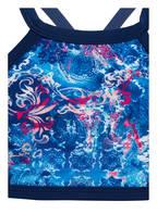 Hot Stuff High-Neck-Bikini , Farbe: BLAU  (Bild 1)