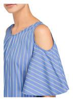 CINQUE Cold-Shoulder-Bluse CITEKLA, Farbe: BLAU/ WEISS GESTREIFT (Bild 1)