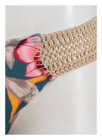 watercult Bikini-Hose HYPER VINTAGE, Farbe: PETROL/ ORANGE/ ROSA (Bild 1)