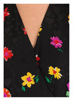 ESCADA Hängerkleid Vneck 1/2 AOP Flowers SE, Farbe: SCHWARZ GEMUSTERT (Bild 1)
