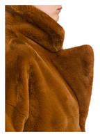 LUISA CERANO Kunstpelzmantel, Farbe: COGNAC (Bild 1)