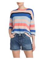 Marc O'Polo DENIM Pullover, Farbe: BLAU/ ROSA (Bild 1)