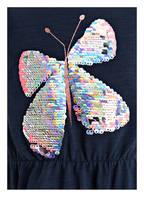 TOM TAILOR Jerseykleid mit Wendepailletten, Farbe: DUNKELBLAU (Bild 1)