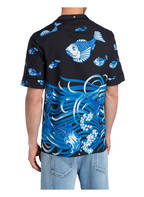 VALENTINO Halbarm-Resorthemd Comfort Fit, Farbe: DUNKELBLAU/ WEISS/ BLAU (Bild 1)