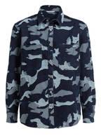 VALENTINO Jeans-Hemd Comfort Fit, Farbe: NAVY (Bild 1)