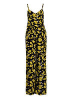 MICHAEL KORS Jumpsuit GLAM FLEUR, Farbe: SCHWARZ/ GELB (Bild 1)