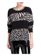 MARCCAIN Sweatshirt, Farbe: 960 BLACK & WHITE (Bild 1)