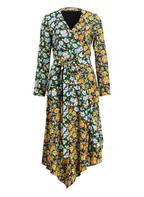 maje Kleid , Farbe: SCHWARZ/ HELLBLAU/ GELB (Bild 1)