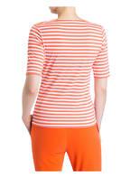 JOY sportswear T-Shirt ALLISON, Farbe: ORANGE/ WEISS GESTREIFT (Bild 1)