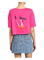 TOMMY JEANS Cropped-Shirt , Farbe: PINK (Bild 1)
