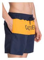 Calvin Klein Badeshorts, Farbe: BLAU/ ORANGE (Bild 1)