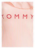 TOMMY HILFIGER One-Shoulder-Badeanzug, Farbe: LACHS/ WEISS GESTREIFT  (Bild 1)