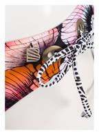 BEACHLIFE Bikini-Hose CALIFORNIA POPPIES, Farbe: PINK/ ORANGE/ SCHWARZ (Bild 1)