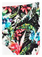 Hot Stuff Bikini-Hose TROPICAL FLOWER, Farbe: GRÜN/ SCHWARZ/ ROT (Bild 1)