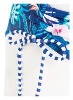 Hot Stuff Bikini-Hose BLUE FLOWERS , Farbe: BLAU/ GRÜN (Bild 1)
