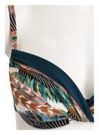 MARYAN MEHLHORN Bügel-Bikini BELLE EPOQUE , Farbe: OFFWHITE/ PETROL/ BRAUN (Bild 1)
