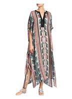 MARYAN MEHLHORN Oversized-Kaftan BELLE EPOQUE mit Seidenanteil , Farbe: WEISS/ GRÜN (Bild 1)