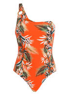 SEAFOLLY One-Shoulder-Badeanzug OCEAN ALLEY, Farbe: ORANGE (Bild 1)